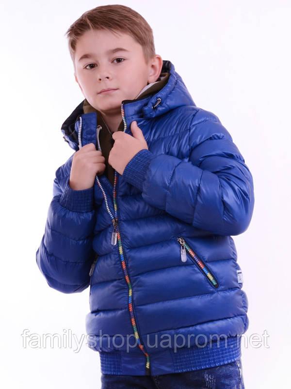 Зимний пуховик на мальчика  Люксик