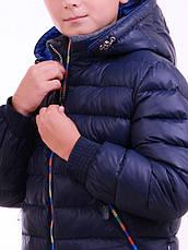 Зимний пуховик на мальчика  Люксик, фото 3