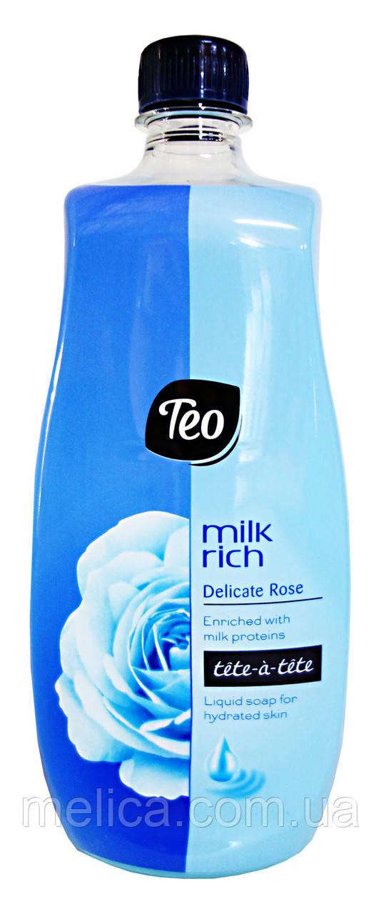 Жидкое мыло Teo Tete-a-tete Milk rich Delicate Rose - 800 мл.