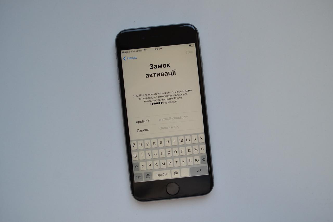 Apple Iphone 6s 32Gb Space Gray Neverlock Icloud Locked Оригинал!