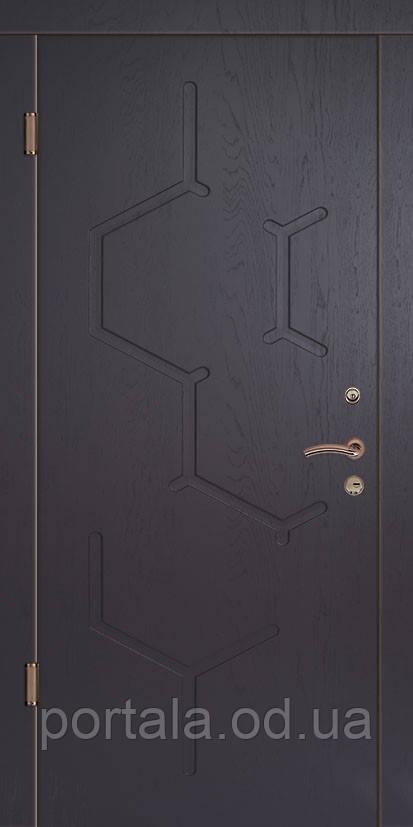 """Вхідні двері """"Портала"""" серія Тріо ― модель Спліт (Три контури)"""