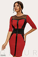 Платье с моделирующими вставками Все размеры Разные цвета