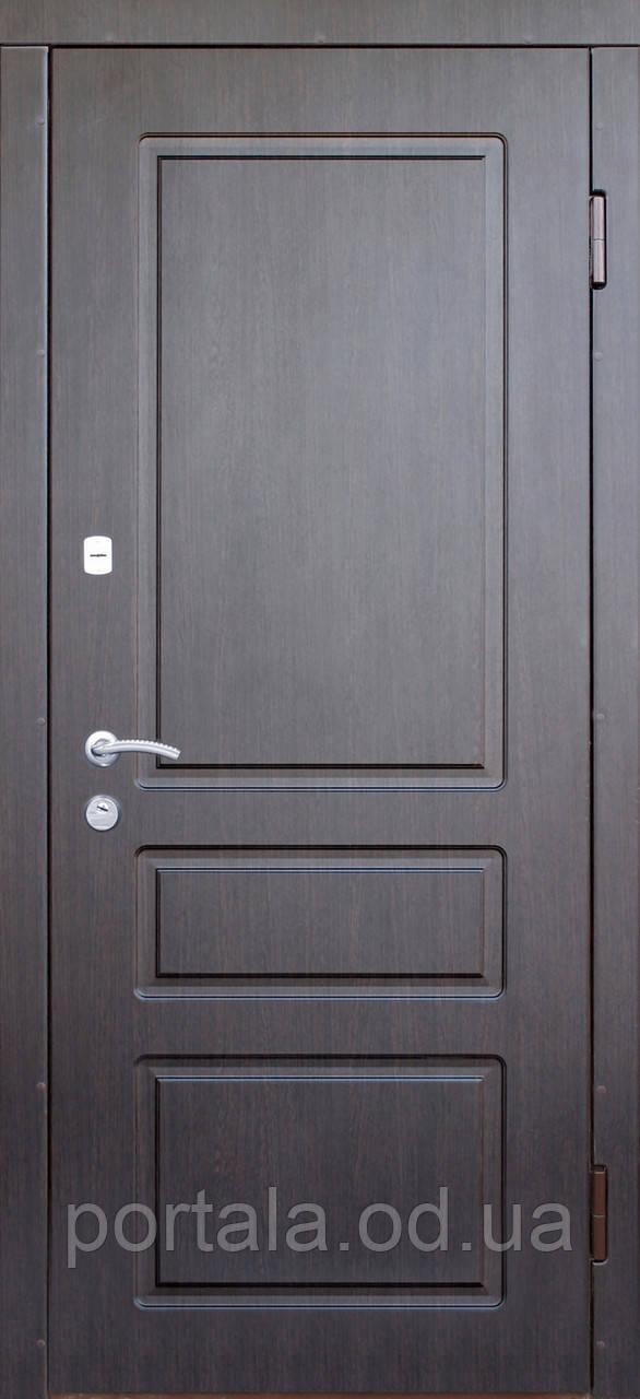 """Входная уличная дверь """"Портала"""" серия Трио RAL ― модель Осень (Три контура)"""