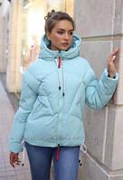 Зимняя куртка женская размер 46  Руфина. Пуховик оверсайз