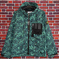 Мужская куртка (весна\осень) в стиле Stone Island x Supreme камуфляж