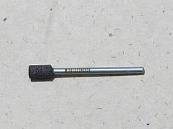 Абразивная шлифовальная головка цилиндрическая Ø6х10х3 P16 СТ1 14А