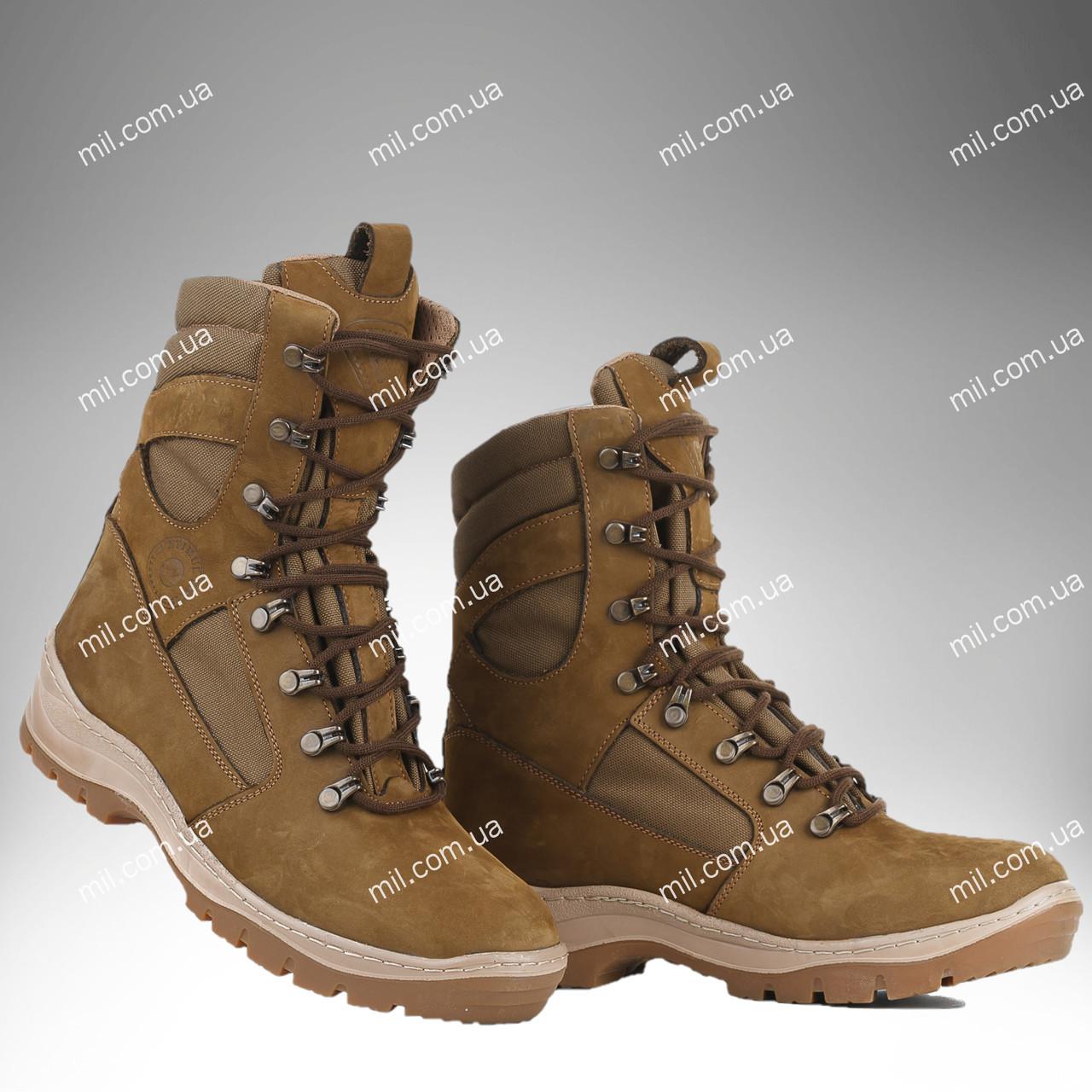 Берцы демисезонные / военная, тактическая обувь GROZA (койот)