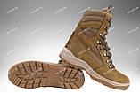 Берцы демисезонные / военная, тактическая обувь GROZA (койот), фото 2