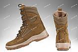 Берцы демисезонные / военная, тактическая обувь GROZA (койот), фото 3