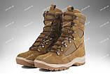 Берцы демисезонные / военная, тактическая обувь GROZA (койот), фото 4