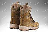 Берцы демисезонные / военная, тактическая обувь GROZA (койот), фото 5