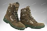Берцы демисезонные / военная, тактическая обувь GROZA (койот), фото 6