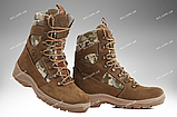 Берцы демисезонные / военная, тактическая обувь GROZA (койот), фото 8