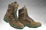 Берцы демисезонные / военная, тактическая обувь GROZA (койот), фото 9