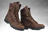 Берцы демисезонные / военная, тактическая обувь GROZA (койот), фото 10