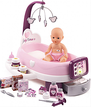 Игровой интерактивный наборпо уходу за пупсом с аксессуарами Baby Nurse, Smoby 220347