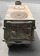 Печка печь буржуйка чугунная ссср советская камин булерьян піч чавунна
