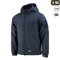 M-Tac куртка Soft Shell с подстежкой Dark Navy Blue (MTC-SJWL-DNB)