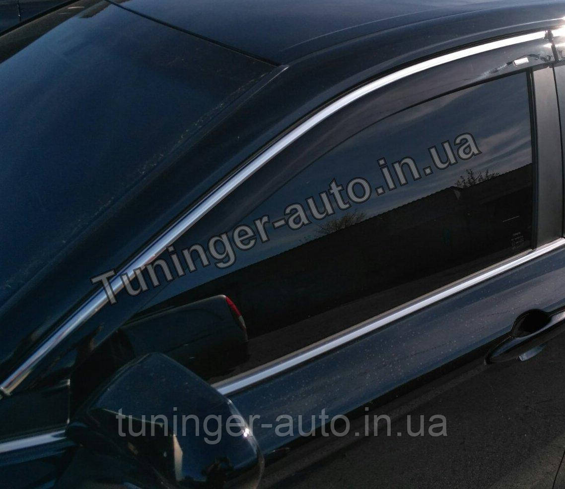 Дефлекторі окон (ветровики) Toyota Camry V70 2017- (HIC)