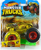 Машинка Hot Wheels Monster Jam 1:64  4-Wheel-Hive