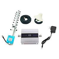 GSM репитер, усилитель мобильной связи 1800Mhz GSM 3G и 4G - Полньй Комплект