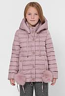 Куртка  зимняя  детская  Татьяна Филатова  модель 272 пудра
