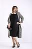 Платье большого размера с кардиганом,  с 42 по 74  размер