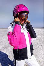 Жіноча гірськолижна куртка рожева FREEVER