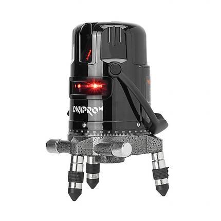 Лазерный уровень Dnipro-M ML-230 / 3 луча / 2 класс, фото 2