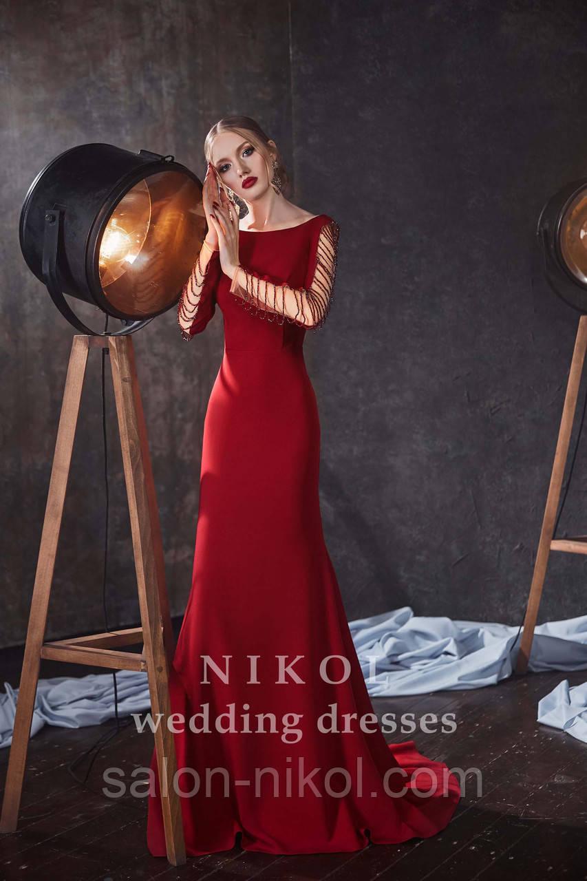 Вечернее, выпускное платье № V401