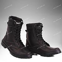 Берцы демисезонные / военная, рабочая обувьПАНТЕРА II (черный)
