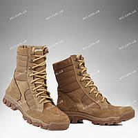 Берцы демисезонные / военная обувь ПЛАСТУН (черный)