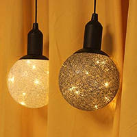 Новогодний светильник -лампа led cotton ball lamp