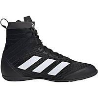 Боксерки Adidas SpeedEx 18, черные с белыми полосами, фото 1