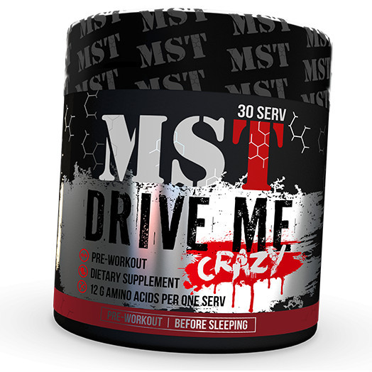 Предтреник MST Drive Me (300 г) мст драйв ми cherry drink