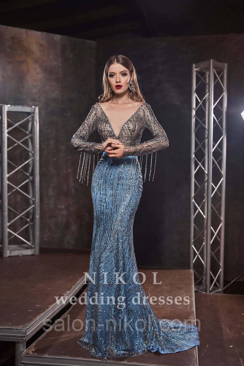 Вечернее, выпускное платье № V402