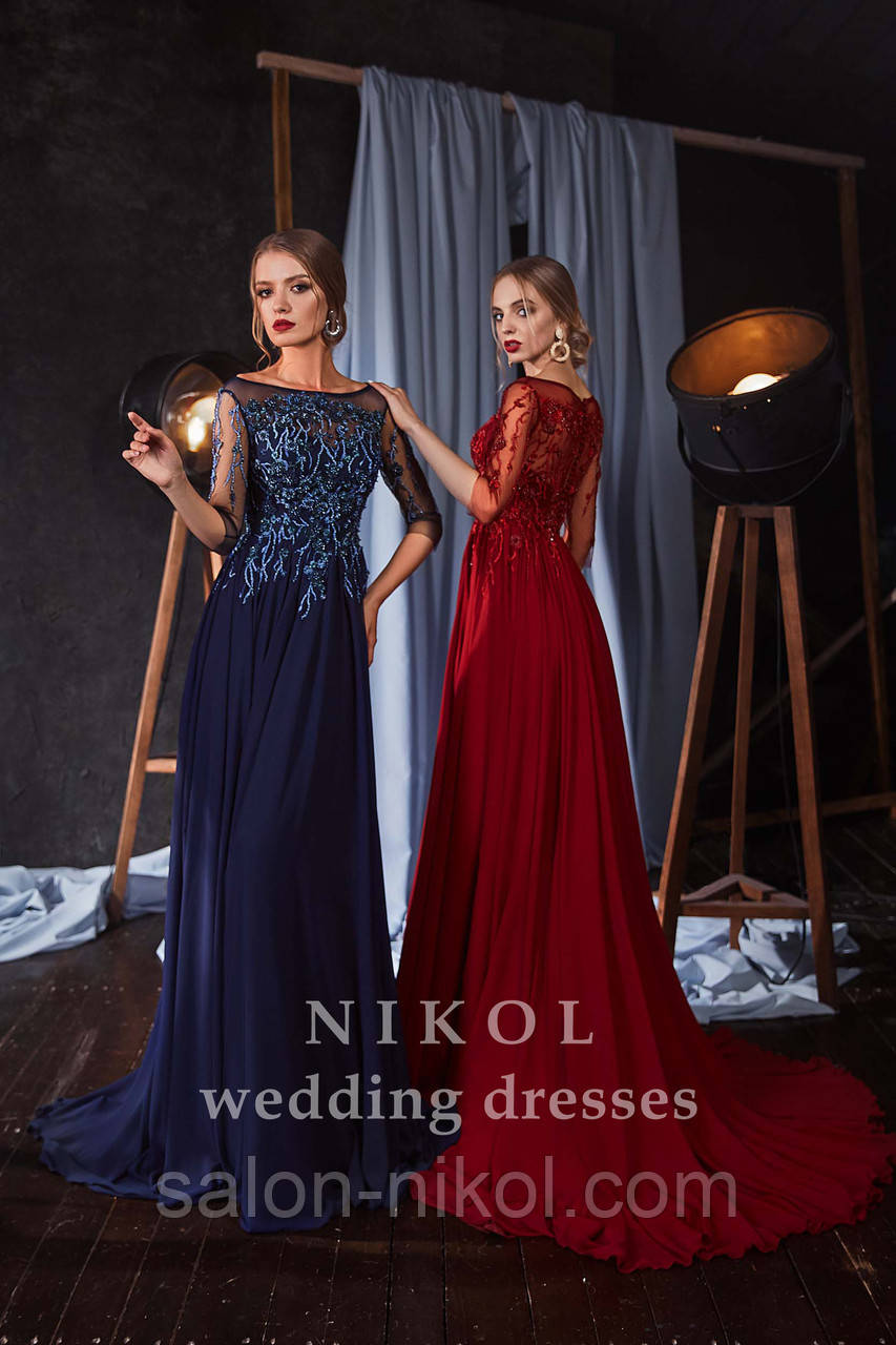 Вечернее, выпускное платье № V404