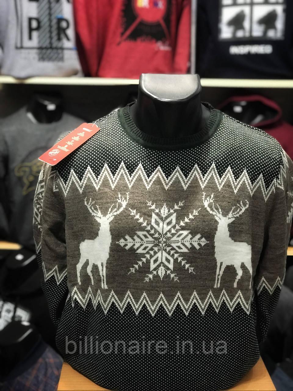 Новорічний светр з оленем 8
