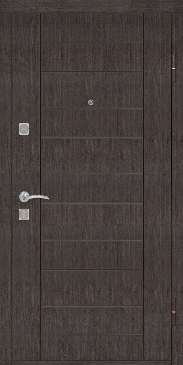 Дверь входная Омис Домино ТМ Riccardi 2050х960 мм венге