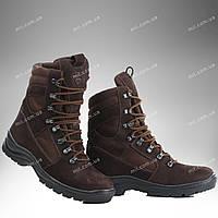 Берцы демисезонные / военная, тактическая обувь GROZA (шоколад), фото 1
