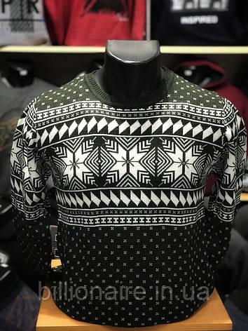 Новорічний светр сніжинка Т, фото 2