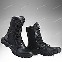 Берцы демисезонные / военная, тактическая обувь ДЕЛЬТА (черный), фото 1
