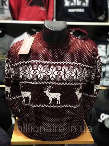 Новорічний светр з оленем 4, фото 2
