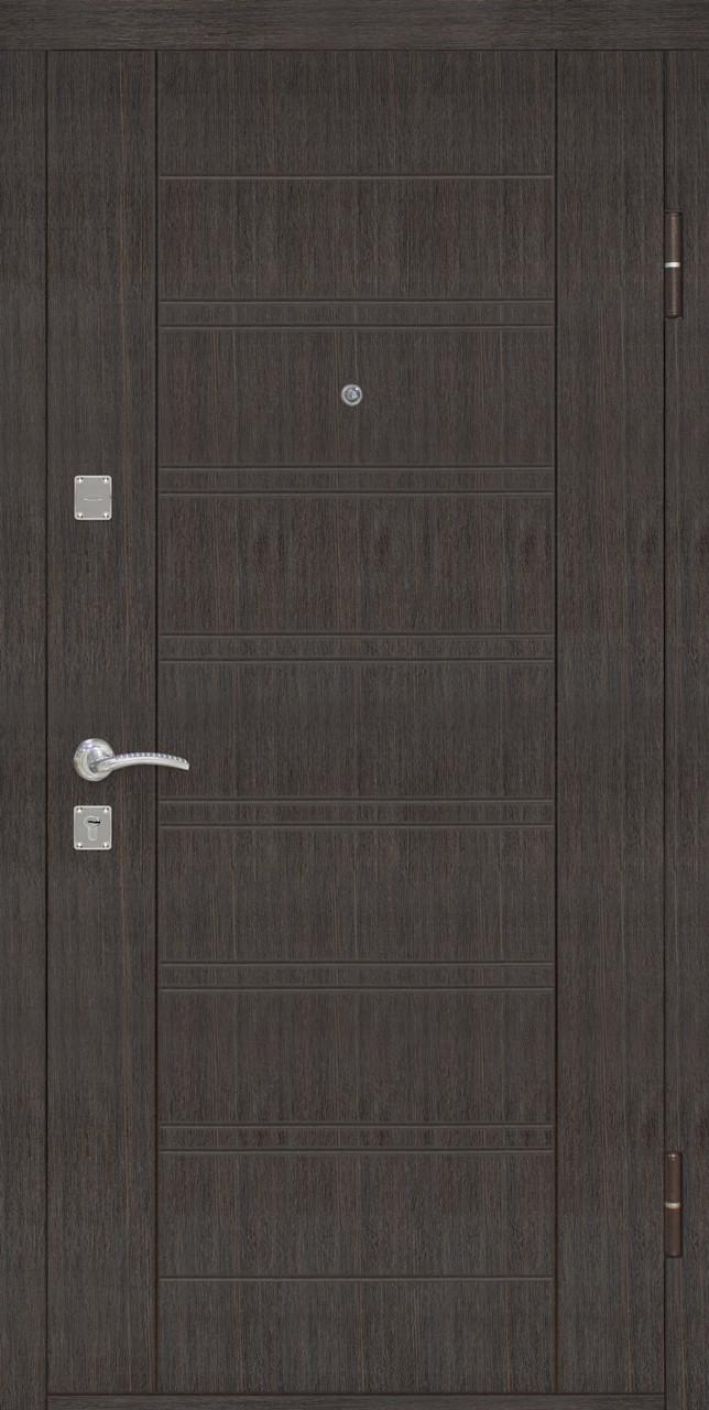Дверь входная Омис Лагуна ТМ Riccardi 2050х860 мм венге
