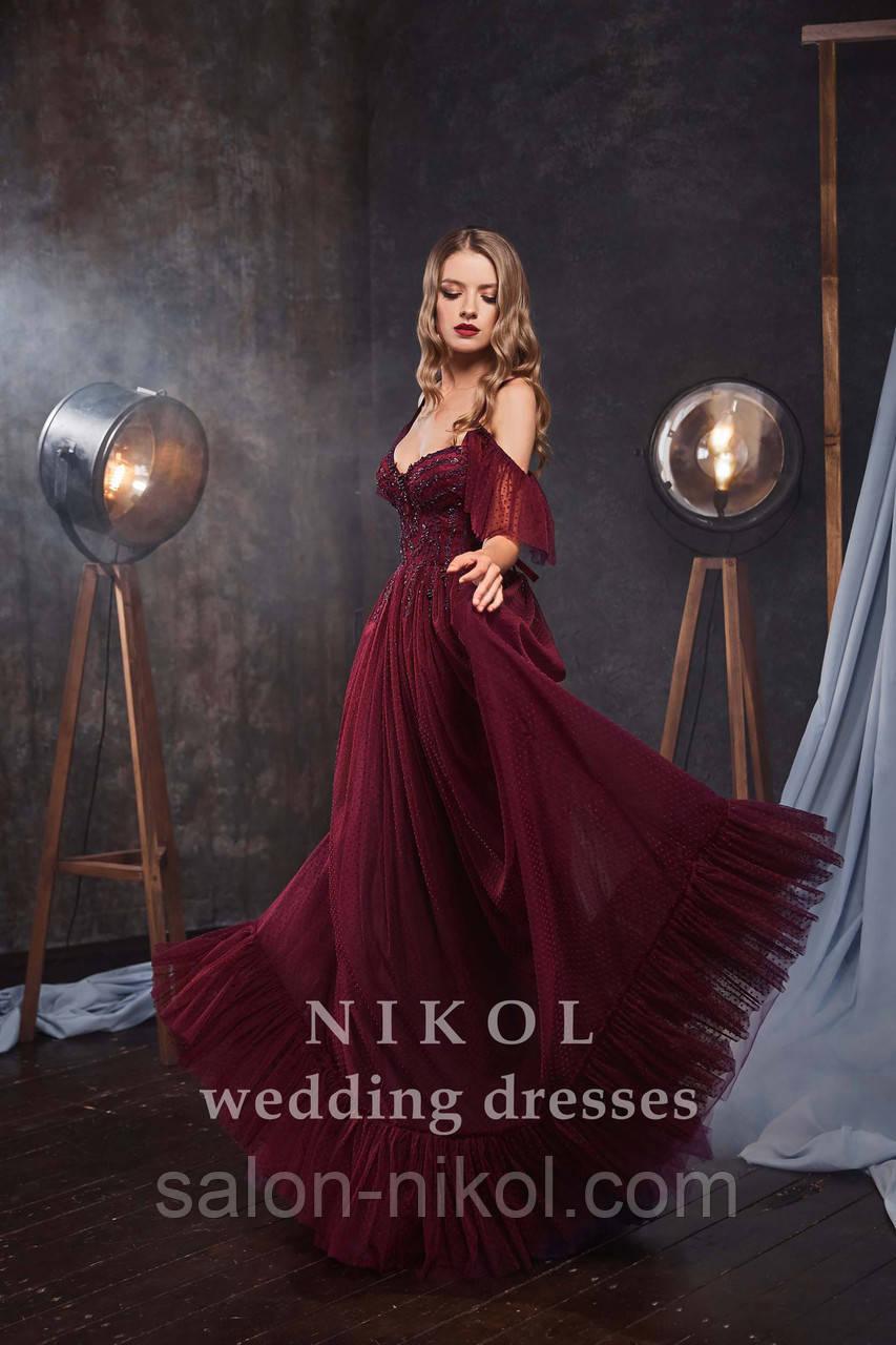 Вечернее, выпускное платье № V406