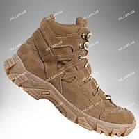Тактическая обувь демисезонная / военные, армейские ботинки Tactic HARD1 (coyote), фото 1