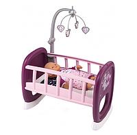 Колыбель Smoby Toys Baby Nurse Прованс с мобилем 47 см (220343), фото 1