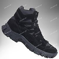 Тактическая обувь демисезонная / военные, армейские ботинки Tactic HARD2 (black)