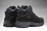 Военные ботинки демисезонные / армейская, тактическая обувь ТИТАН Gen.II (black), фото 6