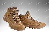 Военные ботинки демисезонные / армейская, тактическая обувь ТИТАН Gen.II (black), фото 7